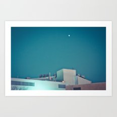 Nation radiation Art Print