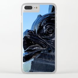 Sturgeon Lamp Post in London Clear iPhone Case