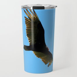 A Turkey Vulture In Tobermory Travel Mug