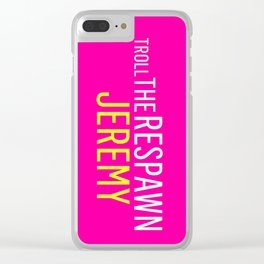Troll the Respawn Jeremy Clear iPhone Case