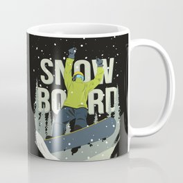Snowboard Coffee Mug