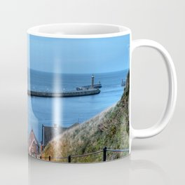 Whitby After Sun Down Coffee Mug