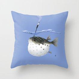Take It Outside! (Colour) Throw Pillow