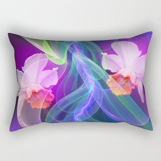 Dreamy Spring with Daffodils Rectangular Pillow