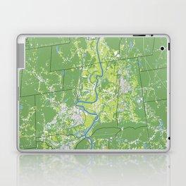 Pioneer Valley map Laptop & iPad Skin