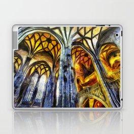 Vienna Cathedral Vincent Van Gogh Laptop & iPad Skin
