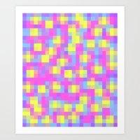 Pixel Me Art Print