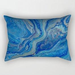 Agate - An Abstract Rectangular Pillow