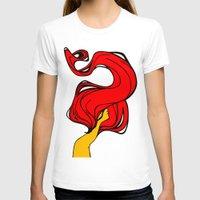 redhead T-shirts featuring Redhead by Moonworkshop