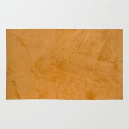 Tuscan Orange Stucco Rug