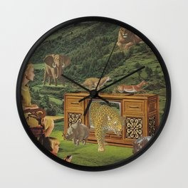 4K television Wall Clock