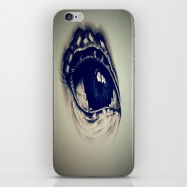 Abstract eye iPhone Skin