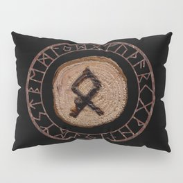 Othala Rune ancestral property, one's homeland or a sense of physical, mental, emotional, spiritual Pillow Sham
