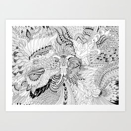 Ornate Pattern-large Art Print