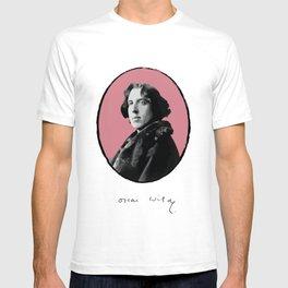 Authors - Oscar Wilde T-shirt