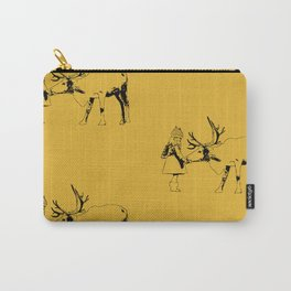 Talking to animals Carry-All Pouch