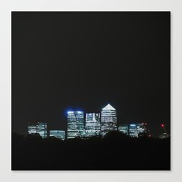 Canary Wharf  Canvas Print