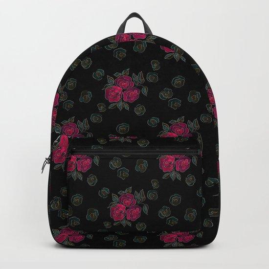 Watercolor. Rose .11 Backpack