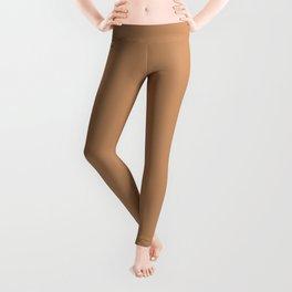 """Brown camel """"Butterum"""" Pantone color Leggings"""