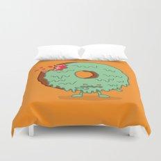 The Zombie Donut Duvet Cover