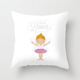 i´m a dancer Throw Pillow