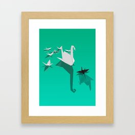 Misfit Framed Art Print