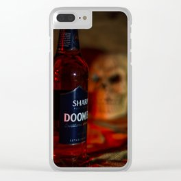 Doomed Clear iPhone Case