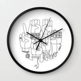 We can! Wall Clock