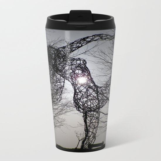 AN ECLIPSE OF THE HEART FOR THE JOY OF SPRING Metal Travel Mug