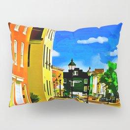 Fells Point Square, Baltimore, Maryland Pillow Sham