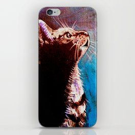 Shadow Cat iPhone Skin