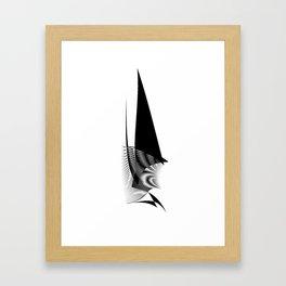 soul of a shark Framed Art Print