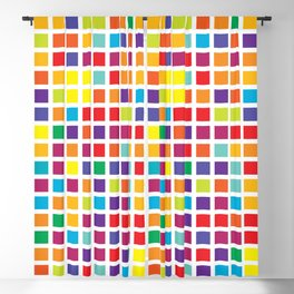 City Blocks - Rainbow #494 Blackout Curtain