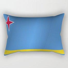 Flag of Aruba Rectangular Pillow