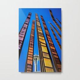 Seattle Art Metal Print