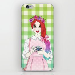 Pretty as a Picture iPhone Skin