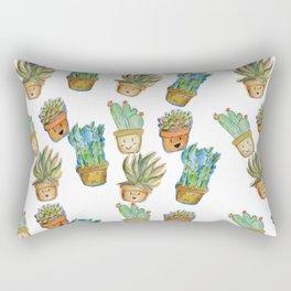 Planty Plants Rectangular Pillow