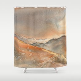 Traveling New Mexico Hwy 152 Shower Curtain