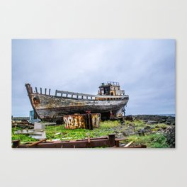 Remembering Better Days Canvas Print