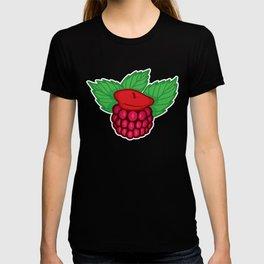 Raspberry Beret T-shirt