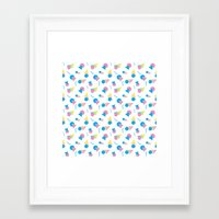 jem Framed Art Prints featuring Jem 2 by Kukka