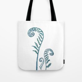 fern painting 2017 Tote Bag