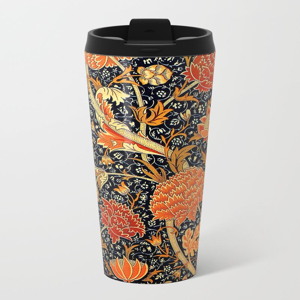 Cray, A William Morris Design Metal Travel Mug by Virginia5050 MTM7901694