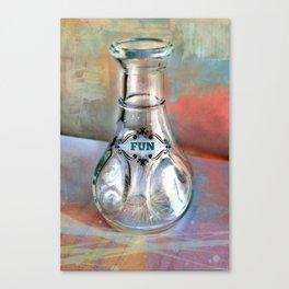 A Bottle of Fun Potion Canvas Print