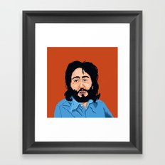 Pixel Paul Framed Art Print
