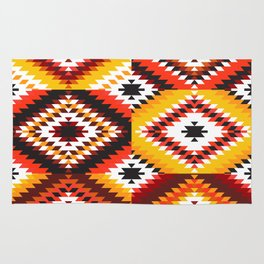 Colorful patchwork mosaic, oriental kilim rug Rug