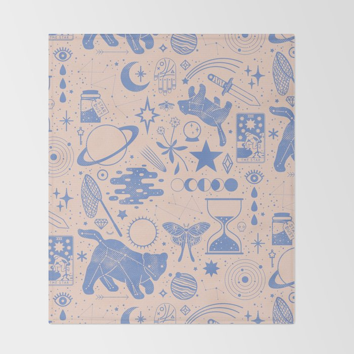 Collecting the Stars Throw Blanket