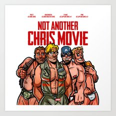 Not Another Chris Movie Art Print