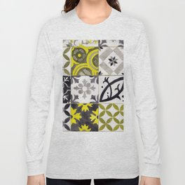 JD_tiled floor1–gouache Long Sleeve T-shirt
