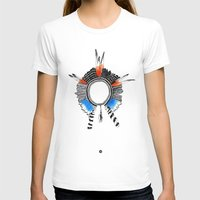 headdress T-shirts featuring Indian Headdress by lifeonmars*